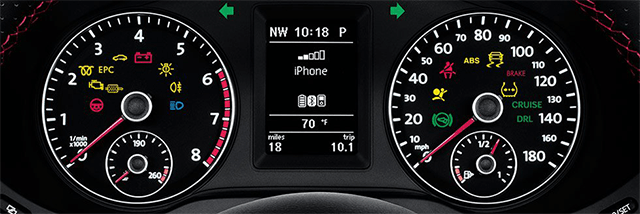 Volkswagen Dashboard Indicator Lights